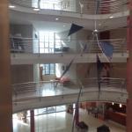 Vista panorámica desde el ascensor