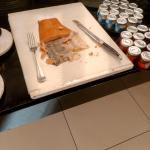 Saumon au buffet, peu appétissant en présentation et en goût