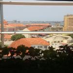 Uma vista linda da Ilha de Luanda...
