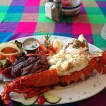 Steak & Lobster dinner special