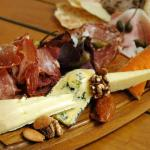 Our famous Charcuterie board & cheeses