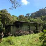 Old dwelling along trail