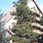 L'hôtel et ses balcons