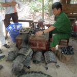 Making sandals from tires