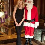 Santa was there at Christmas