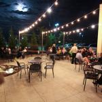 Outdoor seating available for dining or to share a drink