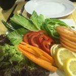Fresh Salad @ Ocean, Aqaba, Jordan