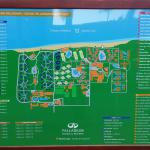 Mapa del Complejo Hotelero