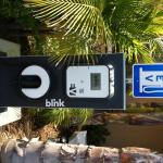 Hollywood Hotel Blink Electric Vehicle EVCharger