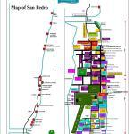 San Pedro Town Map