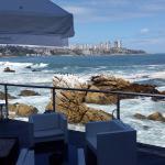 Vista desde la terraza del restaurant