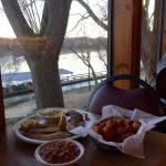 Since 1995 great catfish grilled or fried with hushpuppies to match.  Our favorite and right on