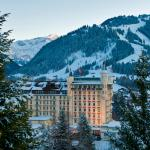 Gstaad Palace in Winter