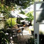 Cool, peaceful courtyard