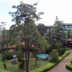 The Water Theme Park's view from our corridor