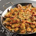 Assorted Seafood Baked Rice in Chef's Recipe Sauce