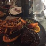 Plat : filet de bœuf