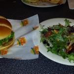 #12 and salad