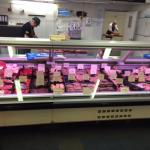 Sausage etc counter