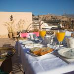 terrasse petit-déjeuner