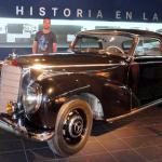 El rincón de Mercedes Benz es muy interesante debido a la relación que tuvo Fangio con la empres