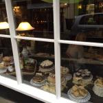 Window of cakes at Anne of Cleeves