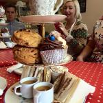 Afternoon tea - homemade cupcakes and scones