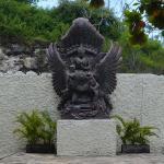 Wisnu riding Garuda