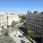 Vista de la Plaza de las Cortes