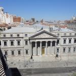 Vista del Congreso desde la terraza de la habitación
