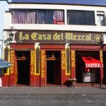 mezcal bar next to square