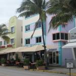 Front of Hotel on Ocean Drive
