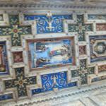 Потолок в церкови Тринита-деи-Монти (SS. Trinita dei Monti)