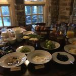 Bountiful breakfast buffet