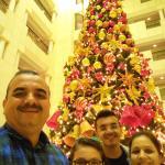 Nice Christmas Tree near dining hall