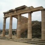 Akropolis von Lindos Foto