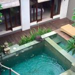Lovely pool from Villa 1