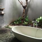 Bathroom from Villa 2