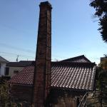 サロン 赤窯 窯煙突