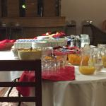 breakfast layout