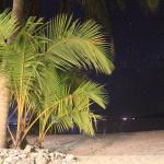 Pandan Island at night