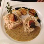 risotto aux St-Jacques et truffe