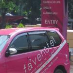 Pinky car...love it