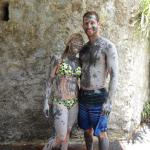 Mud bath at the volcano