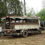 Dala dala - local transport.