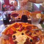 pizza maroco ( merguez/chorizo/oeuf...