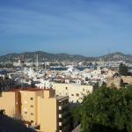 Ibiza Stadt und Burg Foto