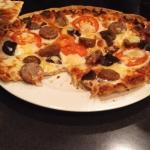Italian Sausage Brick Oven Pizza