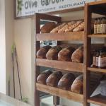 The Deli counter - Great home baked bread.