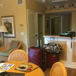 One bedroom condo with screened in patio.